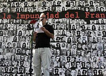 IU aprueba poner en marcha una campaña para acabar con la impunidad franquista que garantiza la Ley de Amnistía de 1977