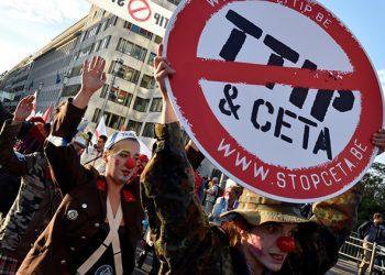 Movilizaciones en toda Europa para frenar el CETA, el «caballo de Troya» del TTIP
