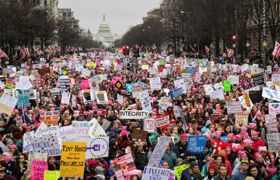 La Marcha de las Mujeres contra Trump retumba en EE.UU. y el mundo