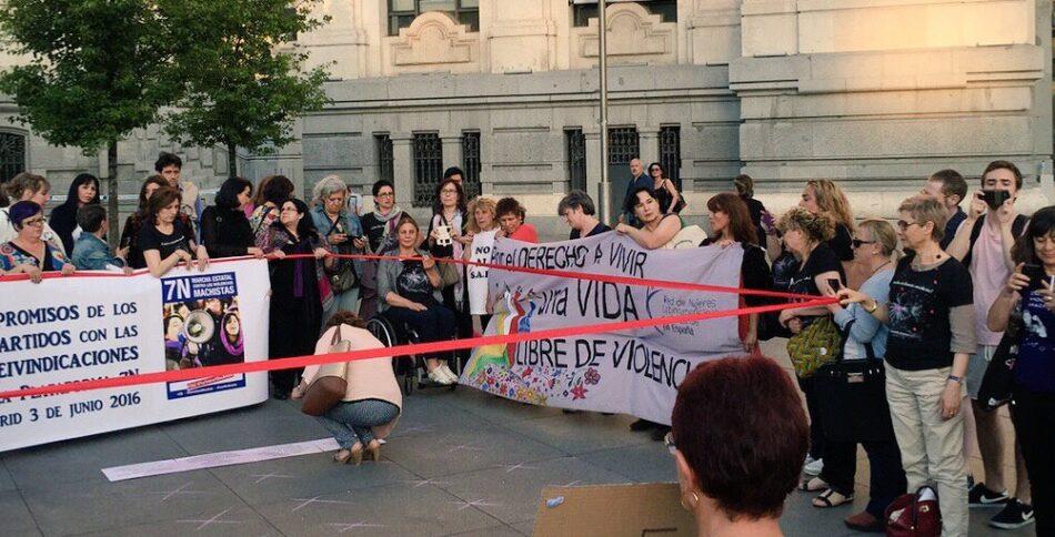 La Plataforma 7N-Madrid denuncia el silencio del gobierno ante los asesinatos machistas en el fin e inicio de año