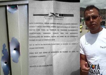 Paramilitares asesinan a dos referentes sociales y atentan contra un dirigente comunitario en Colombia