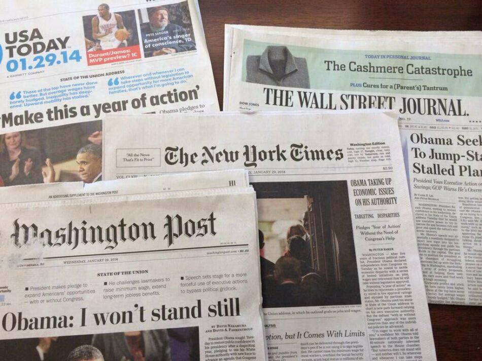 La administración de Trump «responsabilizará» a la prensa de lo que publica