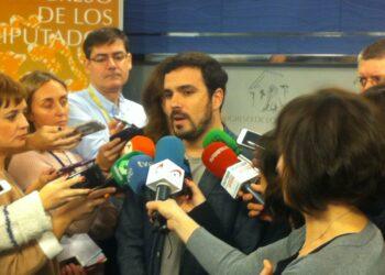 """Alberto Garzón: Bárcenas, ha llegado a un """"pacto de silencio"""" con el PP para «salvarse y no perjudicarse mutuamente»"""