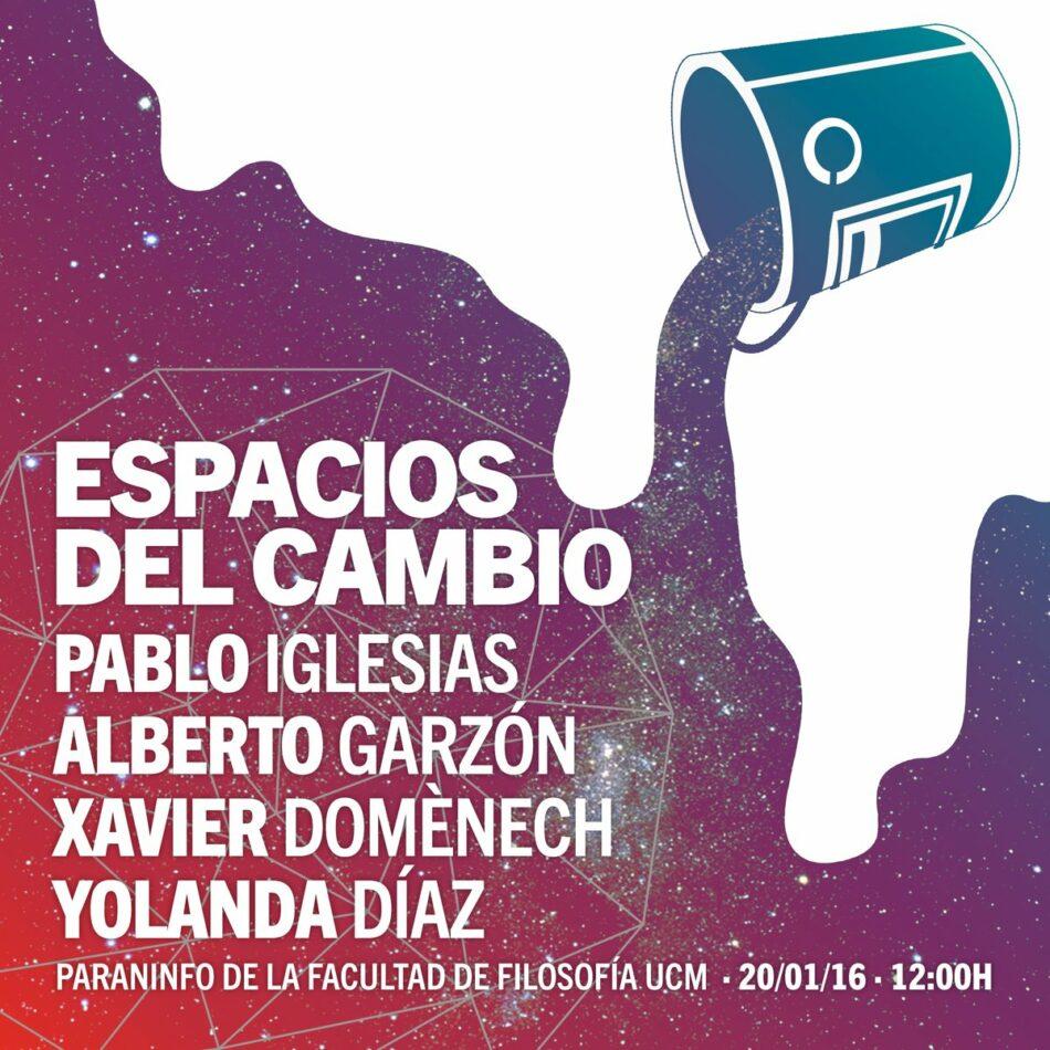 Representantes de las confluencias reflexionan en Madrid sobre el espacio político del cambio