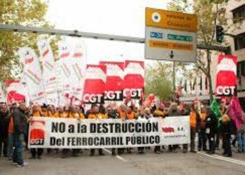 SFF-CGT, en contra de destinar dinero público para la destruicción de empleo en RENFE