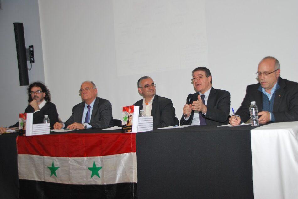 """Presentan en Madrid el libro """"Siria es el centro del mundo"""""""