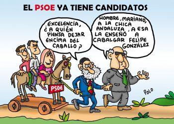 El PSOE ya tiene candidatos