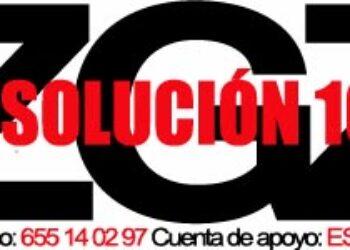 A dos meses para el juicio, se intensifica la campaña por la absolución de los 10 antifascistas de Zaragoza