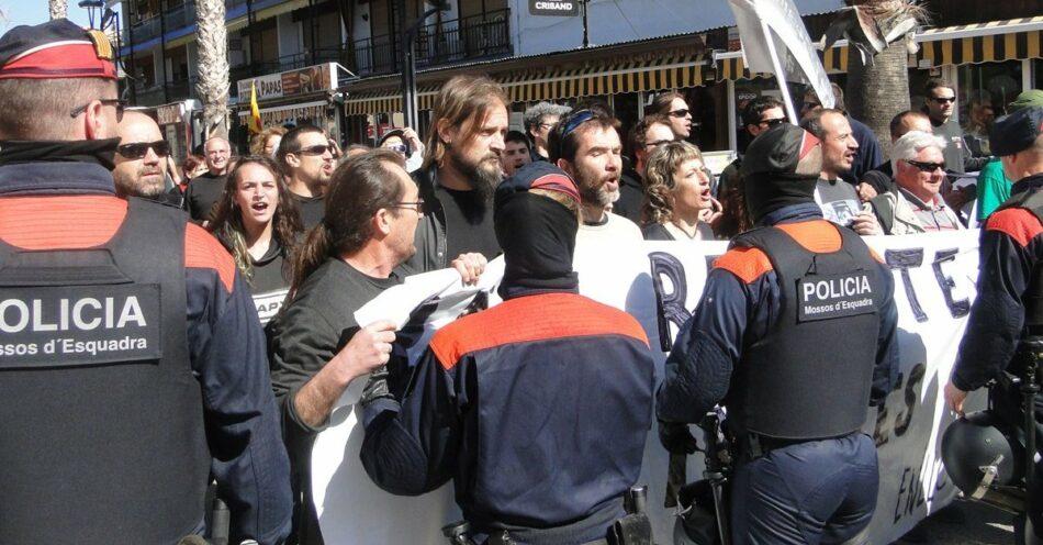 Concentración solidaria con las antifascistas penedesenques