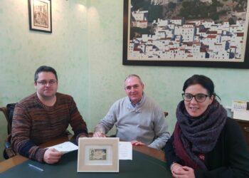 El ayuntamiento de Casares recibe el DNI de Manuel José García Caparrós para la exposición permanente de la casa natal de Blas Infante