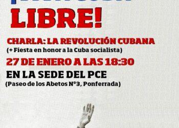 Charla-Debate en El Bierzo: La Revolución Cubana