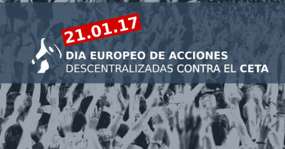El MDM C y L anima a la ciudadanía de Castilla y León y a las mujeres en especial a manifestarse en contra de el CETA el próximo 21 de enero