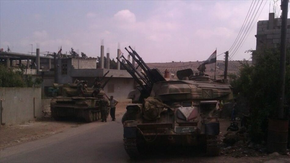 Terroristas se rinden al Ejército sirio en Wadi Barada