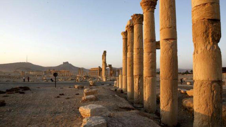 Tras sufrir fuertes bajas, el EI se retira de la zona situada al oeste de Palmira
