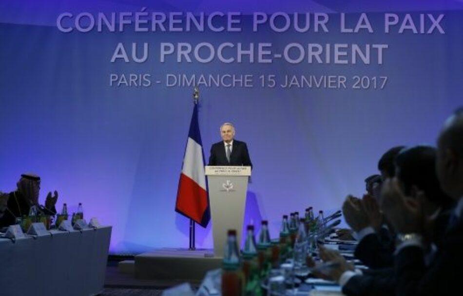 París acoge 70 delegaciones en conferencia sobre Medio Oriente
