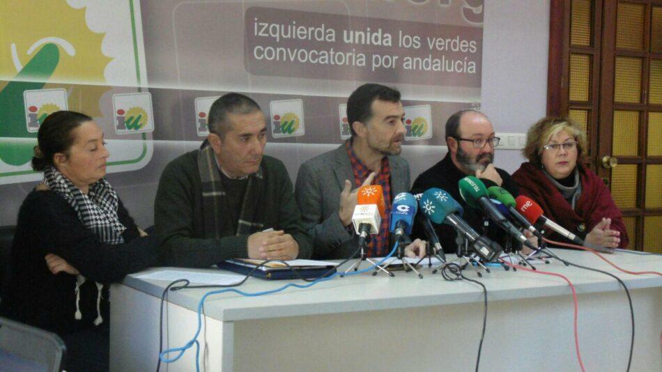 IU presenta mociones en defensa de la gestión directa de los comedores escolares en Andalucía