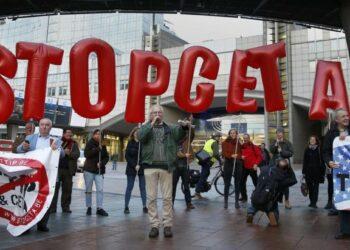 Numerosas movilizaciones contra CETA en todo el estado