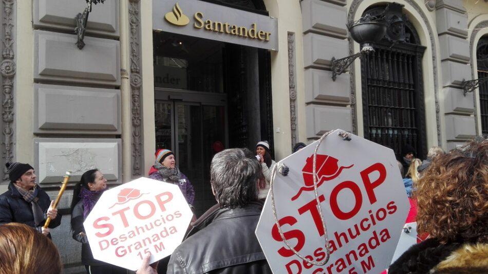 Stop Desahucios Granada 15M paraliza un juicio por usurpación