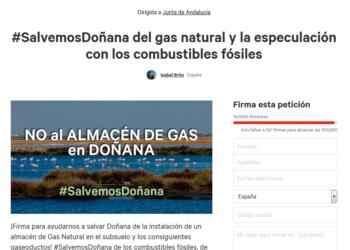 EQUO pide explicaciones al gobierno de Rajoy por los 6,3 millones euros que concede a Gas Natural Fenosa por sus actividades en Doñana