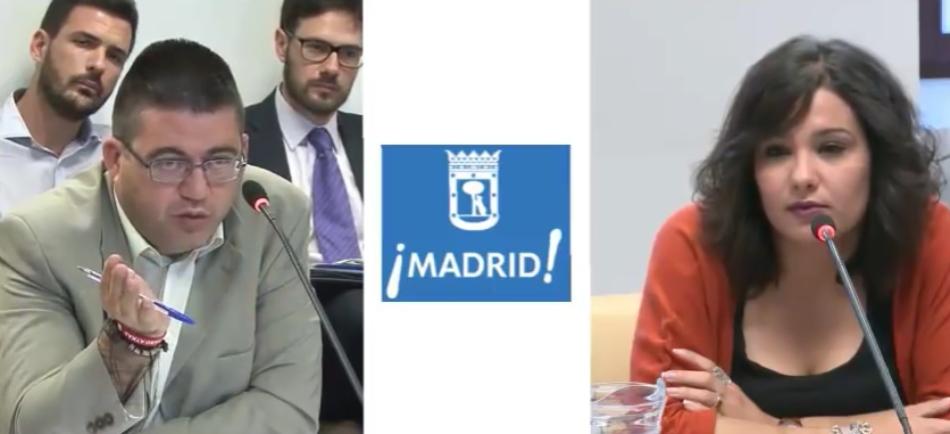 Ahora Madrid muestra su apoyo a Arantxa Mejías, víctima de Fidere y del gobierno de Ana Botella