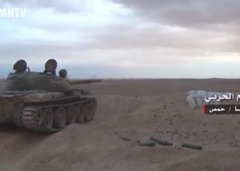 Con el apoyo de cazas rusos, Ejército sirio avanza hacia Palmira