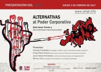Charla-debate: «Alternativas al poder corporativo. Qué hacer frente a las empresas transnacionales»