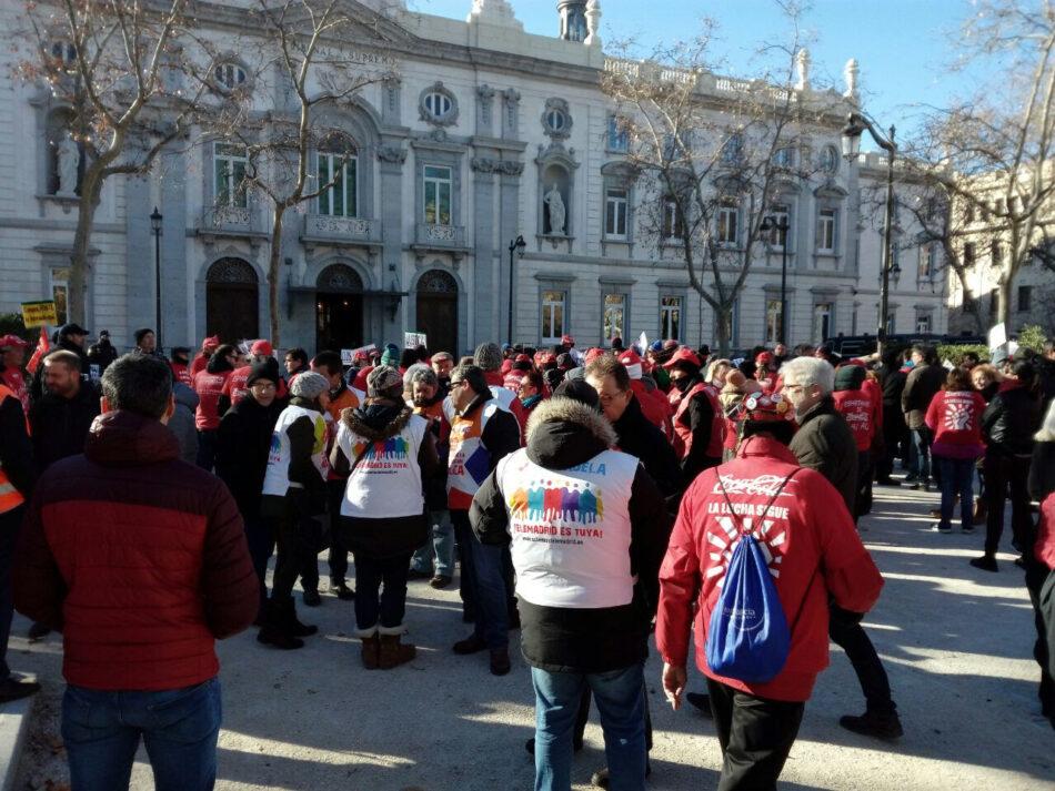 El Tribunal Supremo confirma la ejecución de la sentencia sobre el despido colectivo de Coca Cola