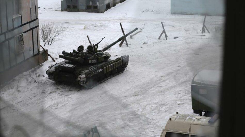Rusia arremete contra Ucrania por ataque 'bárbaro' a Donetsk