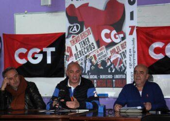 La CGT presenta en Vigo su campaña en defensa de lo público