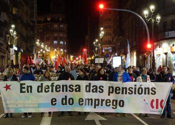 A CIG mobilizouse en demanda da recuperación dos dereitos laborais e sociais roubados coa escusa da crise