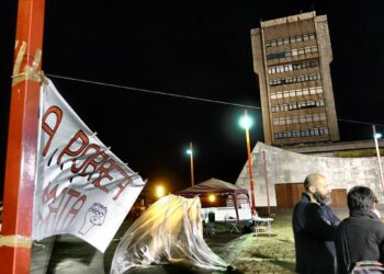 La pobreza mata: acampan en Vigo para reclamar soluciones
