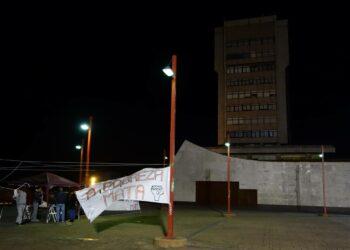 Una semana de acampada en Vigo contra la pobreza