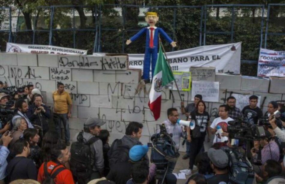 """Convocan en México a marchar contra Trump… y para exigirle a Peña """"que haga lo que le toca"""""""