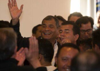 """Rafael Correa: """"La derecha no tiene lealtades, tan solo intereses"""""""