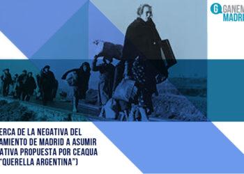 Acerca de la negativa del Ayuntamiento de Madrid a asumir la iniciativa propuesta por Ceaqua («querella argentina»)