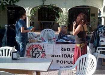 El Ayuntamiento de Alcalá de Henares intenta desalojar a la Plataforma de Afectados por la Hipoteca y la Red de Solidaridad Popular