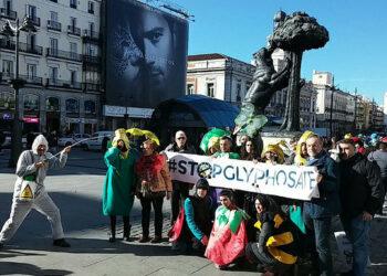 Varias ciudades de Europa acogen actos públicos para iniciar la recogida de firmas por la prohibición del glifosato