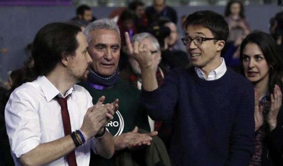 Errejón pierde importancia en el Podemos que ha surgido tras Vistalegre II