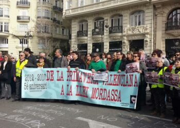 «2012-2017 de la Primavera Valenciana a la Llei Mordassa»