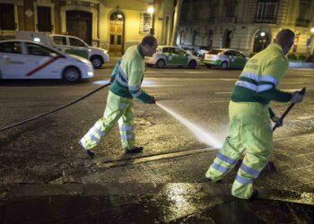 La FRAVM demanda el fin de los contratos actuales para resolver el problema de la limpieza en Madrid