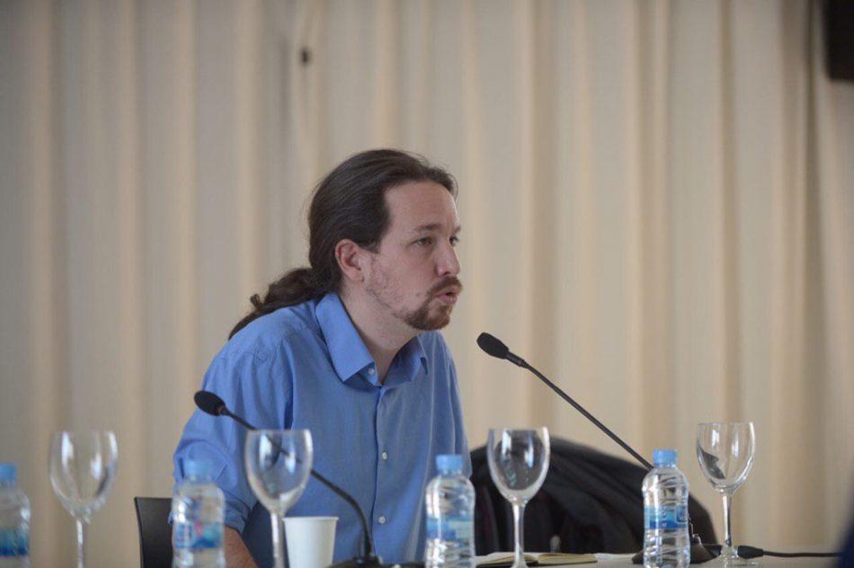 Primera reunión del Consejo de Coordinación de Podemos tras la II Asamblea Ciudadana