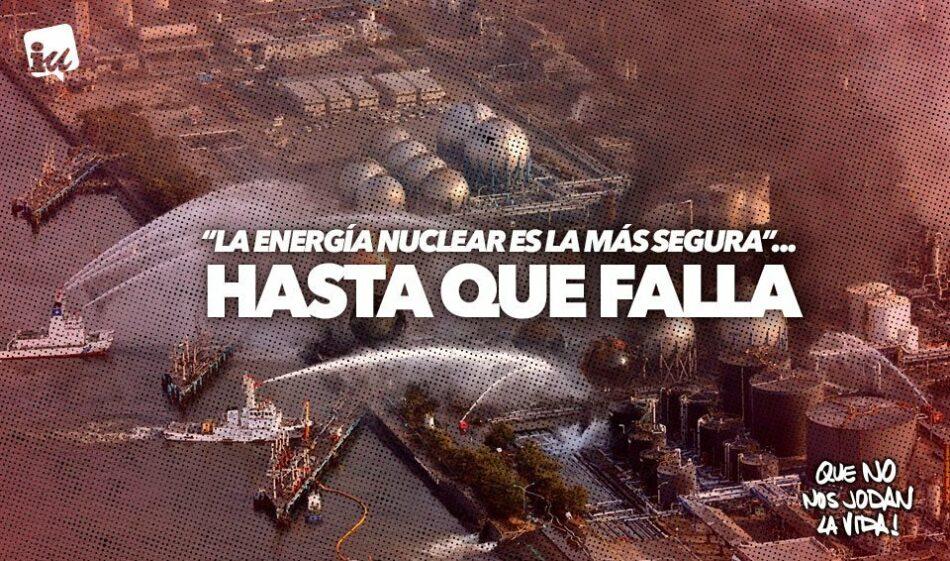 """IU registra urgentemente una iniciativa para que el Gobierno """"cierre y desmantele ya"""" la nuclear de Garoña tras el aval del CSN para que opere más allá de 2030"""