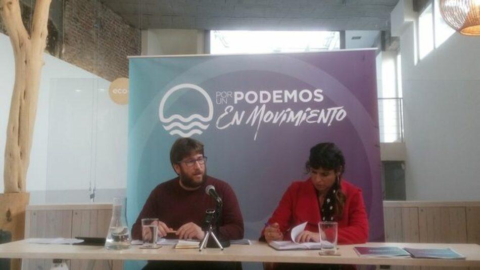 Acto de celebración de final de campaña de Podemos en Movimiento
