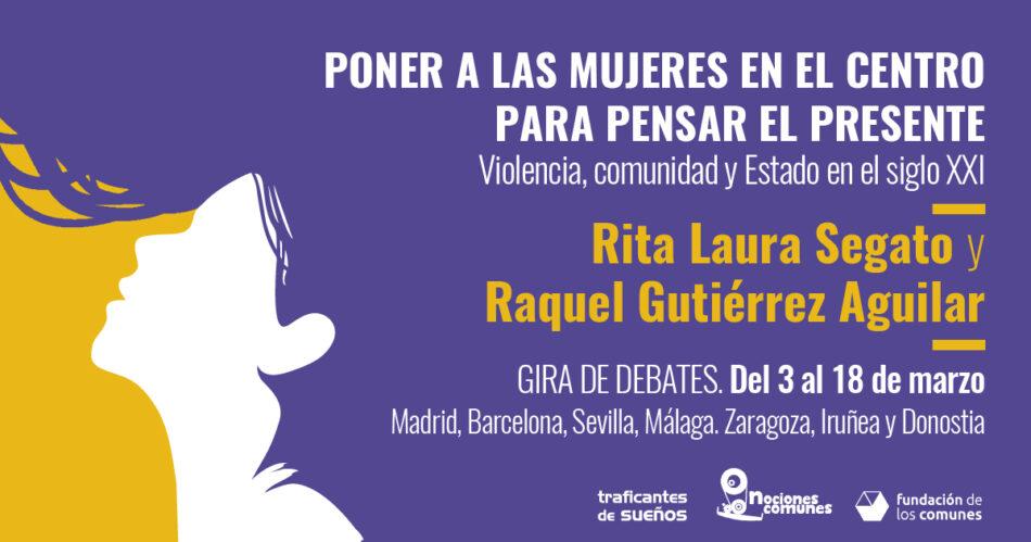 Gira por varias ciudades españolas de dos activistas feministas latinoamericanas especializadas en violencia machista y resistencias comunitarias
