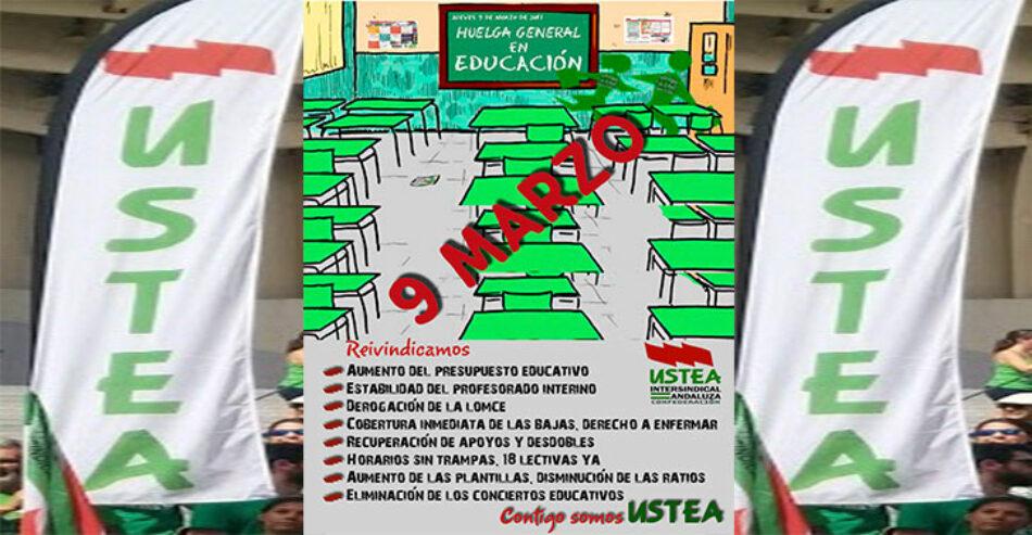 Las organizaciones FAMPA, MAREA VERDE, DOCENTES EN ACCIÓN, PADEI, CGT y USTEA exigen a la Delegación de Sevilla que cese inmediatamente en su política de supresión de unidades en la Escuela Pública