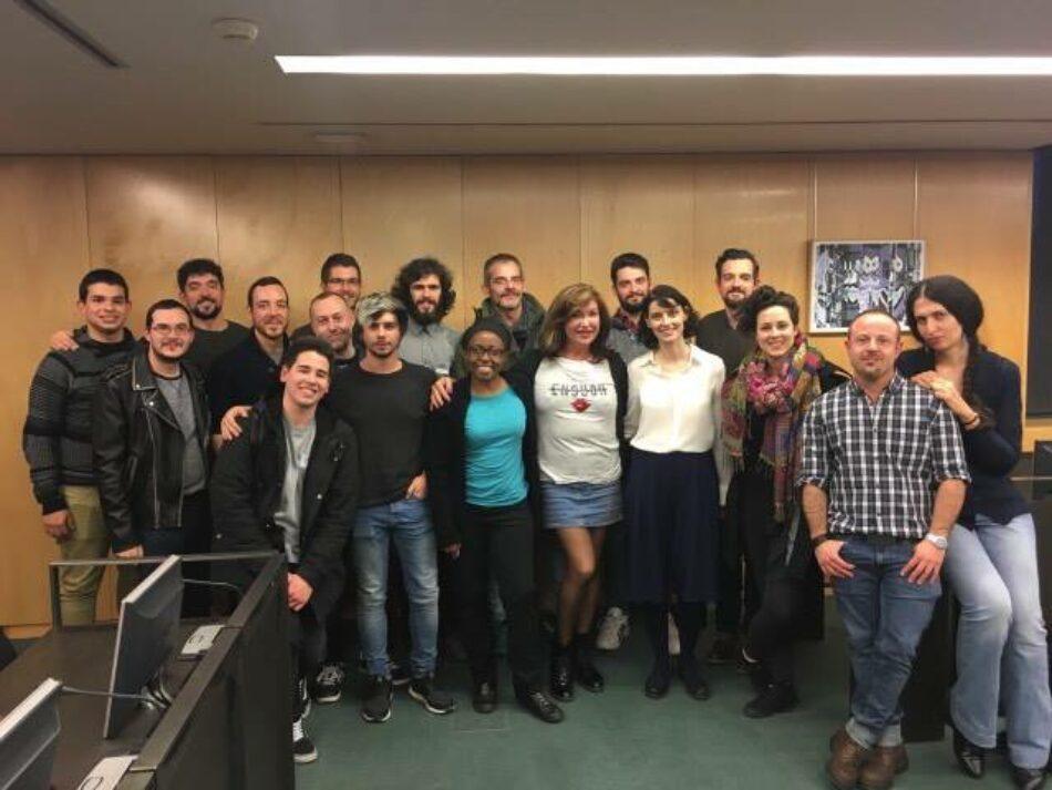 En Comú Podem y Podemos trabajan con los colectivos LGTBI diferentes iniciativas legislativas para el reconocimiento de sus derechos