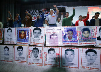 A 29 meses de la desaparición forzada de los normalistas de Ayotzinapa, marcha por los 43 en México