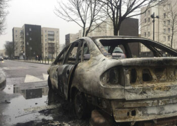 Disturbios en Francia por presunta violación durante arresto