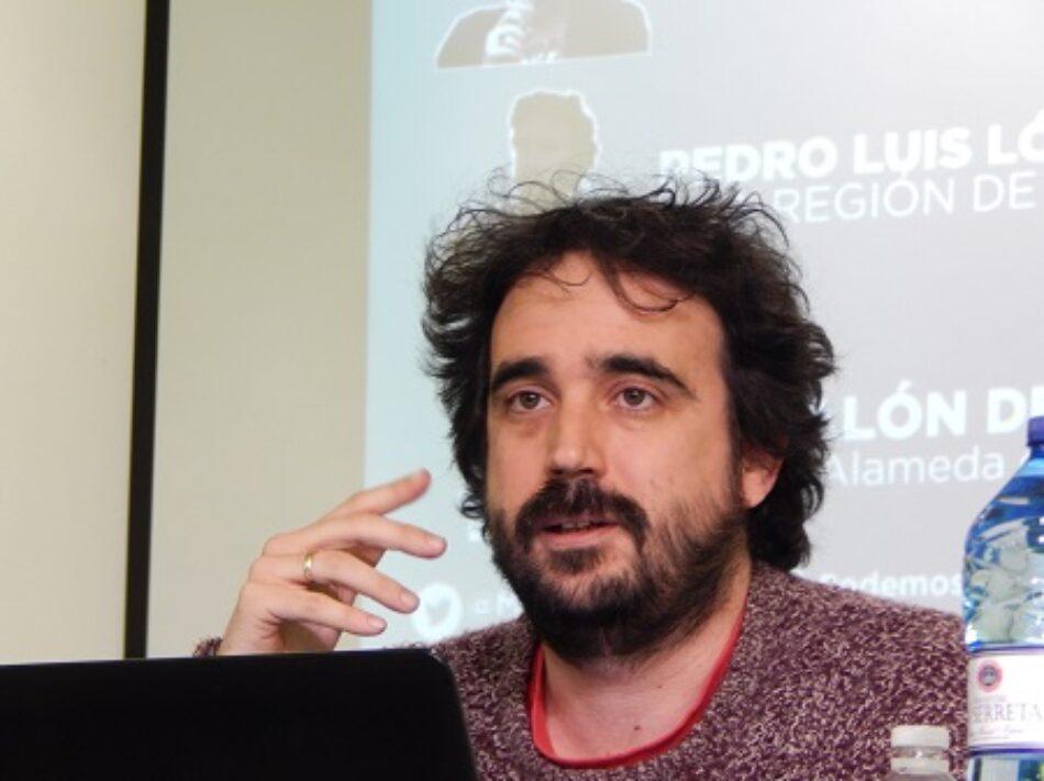 """Pedro Luis López: """"Ahora toca construir una organización para soñar con un futuro mejor, unida pero no uniforme, democrática y plural"""""""