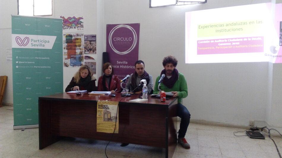 Participa denuncia la hipocresía de Espadas y el PSOE al no derogar ahora la ley Montoro